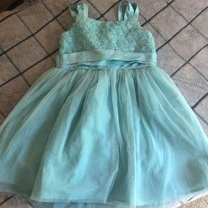 Girl's Light blue dress